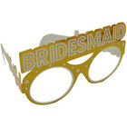 Gold Hen Do Party Glasses - 9 Pack image number 2