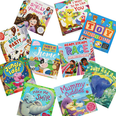 Smiley Stories: 10 Kids Picture Books Bundle image number 1