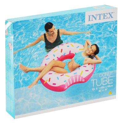Intex Inflatable Doughnut Tube Pool Float image number 1