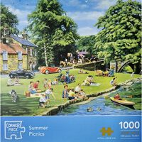 Summer Picnic 1000 Piece Jigsaw Puzzle