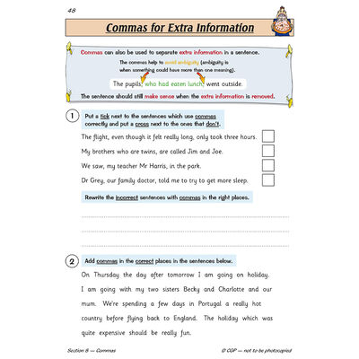 KS2 English Targeted Question Book Grammar, Punctuation & Spelling: Year 5 image number 3