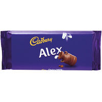 Cadbury Dairy Milk Chocolate Bar 110g - Alex