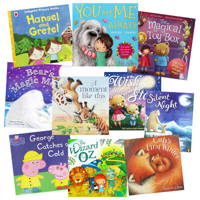 Bedtime Favourites - 10 Kids Picture Books Bundle image number 1