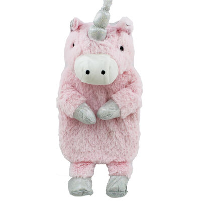 Pink Magical Unicorn Hot Water Bottle image number 2