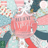 Believe in Magic Premium Paper Pad - 8x8 Inch