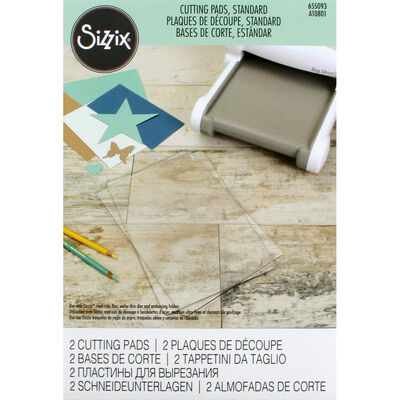 Sizzix Standard Cutting Pads - 2 Pack image number 1