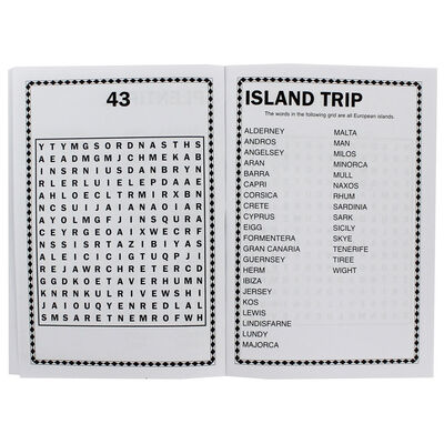 Large Print Wordsearch - Assorted image number 3
