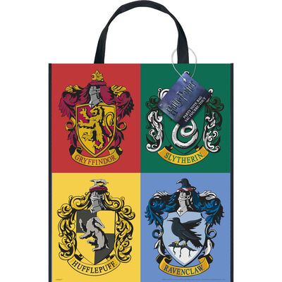 Harry Potter Plastic Party Tote Bag image number 1