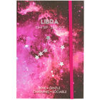 Zodiac Collection Libra Lined Notebook image number 1
