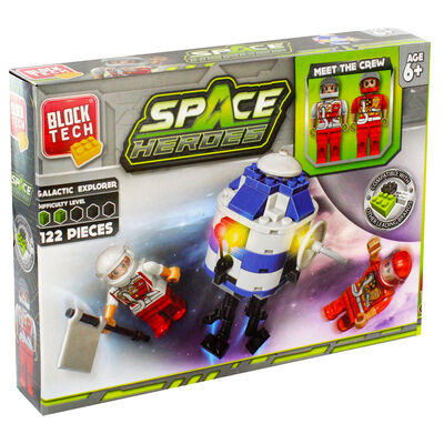 Block Tech Space Heroes Set image number 1