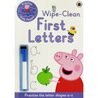 Peppa Pig: First Letters Wipe-Clean Book image number 1