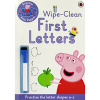 Peppa Pig: First Letters Wipe-Clean Book
