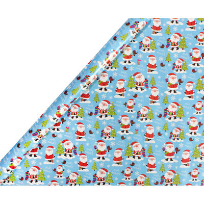 Christmas Gift Wrap - 10M - Assorted image number 2