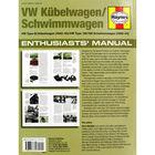 Haynes VW Kubelwagen - Schwimmwagen Enthusiasts' Manual image number 3