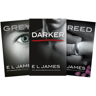 Fifty Shades of Grey as Told by Christian: 3 Book Bundle image number 1