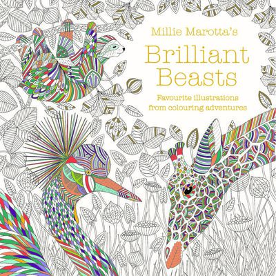 Millie Marotta's Brilliant Beasts Colouring Book image number 1