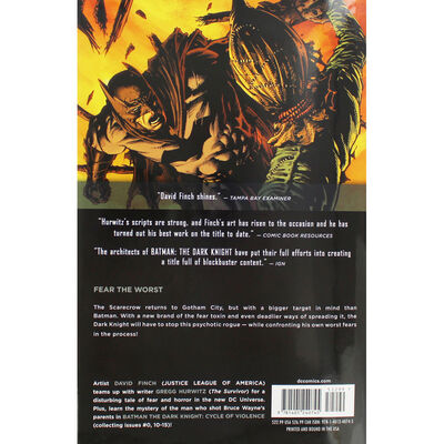 Batman The Dark Knight: Cycle of Violence - Volume 2 image number 4