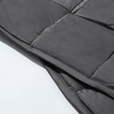 Grey Soft Touch Cotton Weighted Blanket 150 x 200cm - 11.3kg image number 3