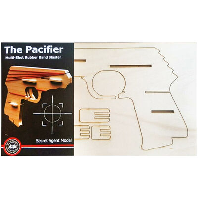 The Pacifier Multi Shot Rubber Band Shooter image number 1