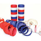 Red, White and Blue 4m Paper Streamers image number 2