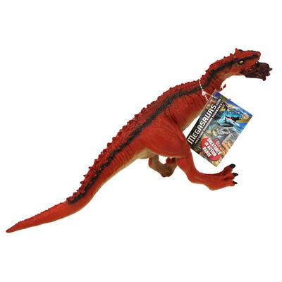Red Tyrannosaurus Rex Dinosaur Figurine image number 1