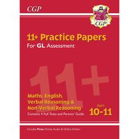 11+ GL Practice Papers Mixed Pack: Ages 10-11