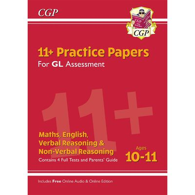 11+ GL Practice Papers Mixed Pack: Ages 10-11 image number 1