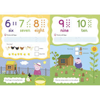 Peppa Pig: First Counting Wipe-Clean Book