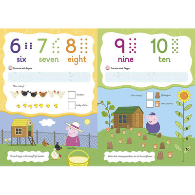 Peppa Pig: First Counting Wipe-Clean Book image number 2