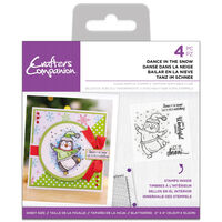 Acrylic Stamp Set: Dance in the Snow