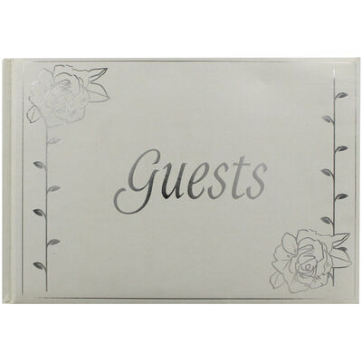 English Rose Pearlescent Guest Book image number 1