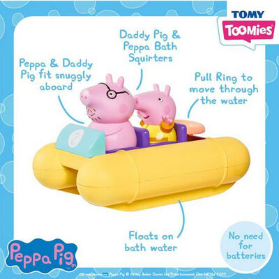 Peppa Pig Pull & Go Pedalo image number 2