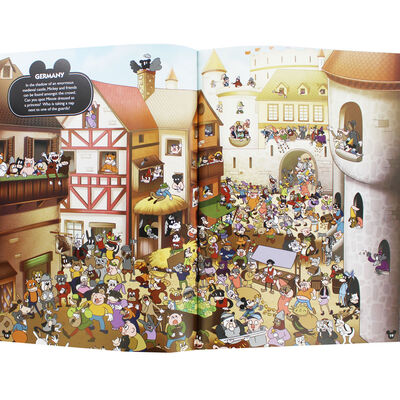 Where's Mickey?: A Search and Find Activity Book image number 2