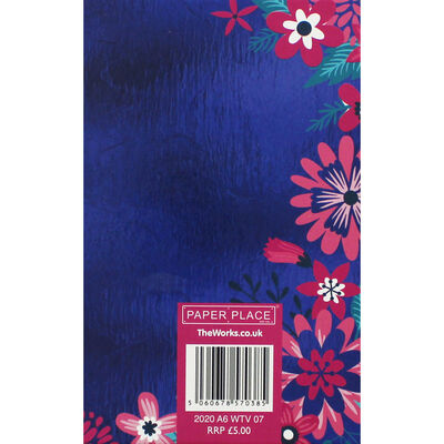 A6 Wiro Floral 2020 Week to View Diary image number 2