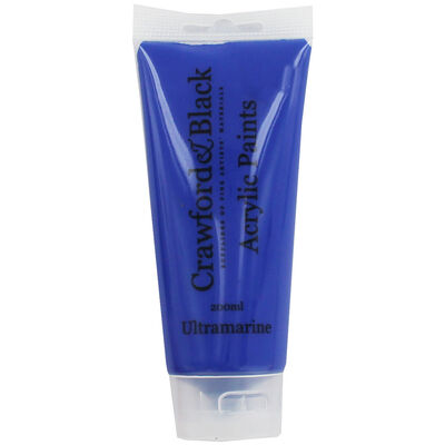 Ultramarine Acrylic Paint - 200ml image number 1