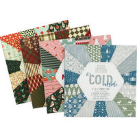 Christmas Themed Paper Pad - 6x6 Inches - Assorted
