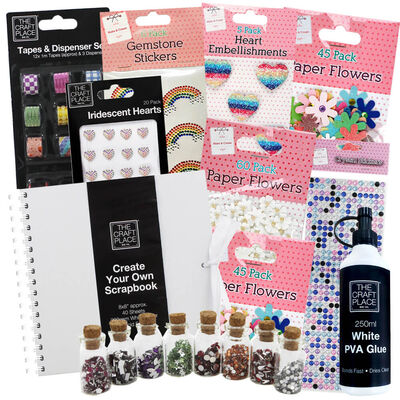 Easter Create Your Own Ultimate White Scrapbook Bundle image number 1