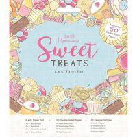 Sweet Treats Paper Pad 6 x 6 Inch