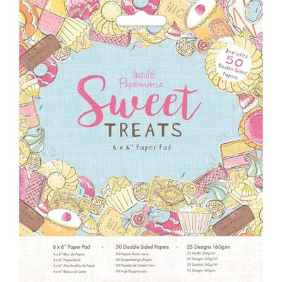 Sweet Treats Paper Pad 6 x 6 Inch image number 1