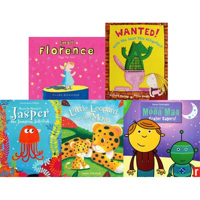 Little Reads: 10 Kids Picture Books Bundle image number 2