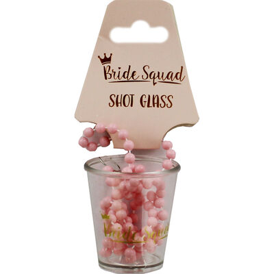 Bride Squad Shot Glass on Chain image number 1