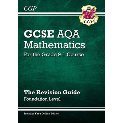CGP GCSE Maths Grade 9-1: The Revision Guide image number 1