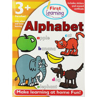 First Learning Alphabet Workbook: Pre-School