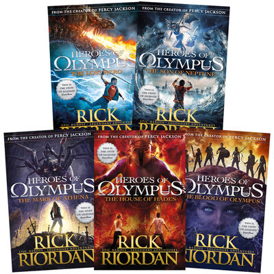 Heroes of Olympus: 5 Book Collection image number 1