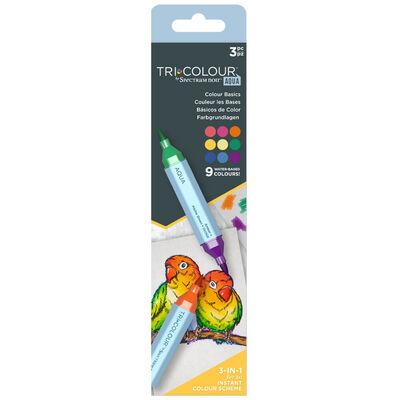 Spectrum Noir TriColour Aqua Markers: Colour Basics image number 1