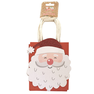 Assorted Christmas Treat Bags: Pack of 6 image number 1