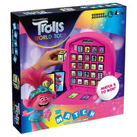 Trolls 2 - Top Trumps Match Board Game