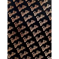 Barbie Ring Binder - Black