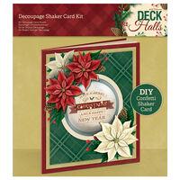 Decoupage Shaker Christmas Card Kit