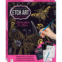 Etch Art Creations: Butterflies and Bees